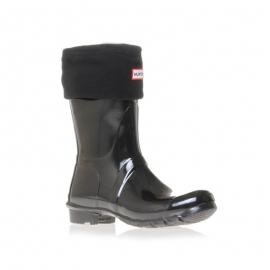 Hunter Short Boot Socks schwarz für Halbschaftstiefel, M und L - 1