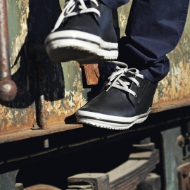 Nokian Footwear Gummistiefel Sneaker Kuura schwarz, 45 - 1