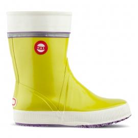 Nokian Footwear Hai Gummistiefel in Lime Tricolor - 1