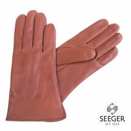 Seeger Herren Handschuhe CUPIDO in cognac, Kaschmirfutter - alle Größen - 1