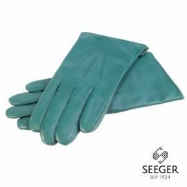 Seeger Herren Handschuhe CUPIDO in grün, Kaschmirfutter - alle Größen - 1