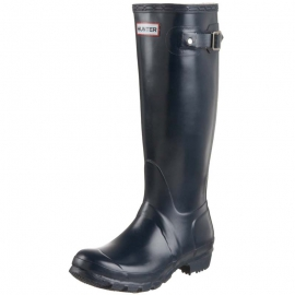 Hunter Women's Original Tall navy Gummistiefel in blau - 1