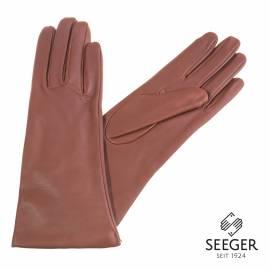 Seeger Damen Handschuhe MINERVA in braun, alle Größen - 1