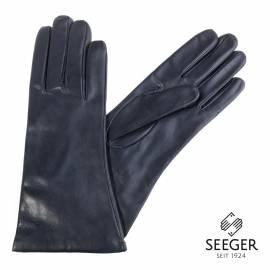 Seeger Damen Handschuhe MINERVA in dark british navy, alle Größen - 1