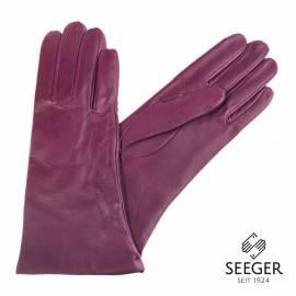 Seeger Damen Handschuhe MINERVA in purpur, alle Größen - 1