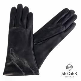 Seeger Damen Handschuhe JUNO in schwarz, alle Größen - 1