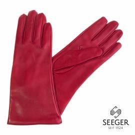 Seeger Damen Handschuhe JUNO in rot, 7,5 - 1