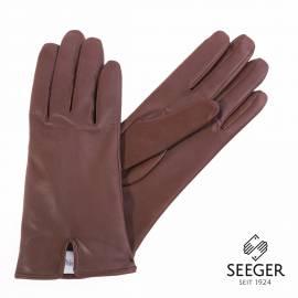 Seeger Damen Handschuhe METIS in dunkelbraun, alle Größen - 1