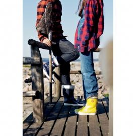 Nokian Footwear Gummistiefel Hai in schwarz - 1