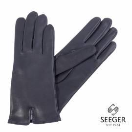 Seeger Damen Handschuhe METIS in british dark navy, 7,5 - 1