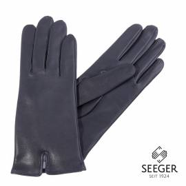 Seeger Damen Handschuhe METIS in british dark navy, 8,5 - 1