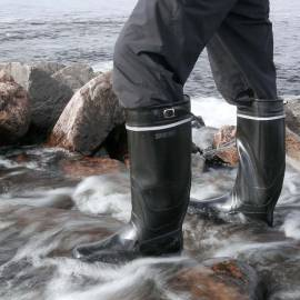 Nokian Footwear Kontio Classic Gummistiefel in schwarz, 45 - 1