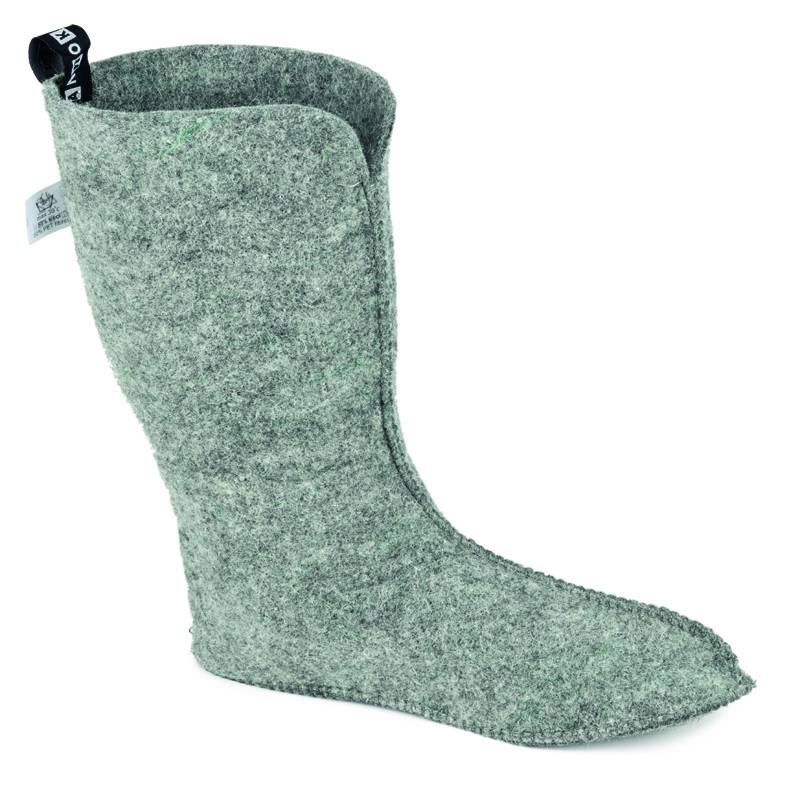 Nokian Footwear Finnwald Gummistiefel mit Filzinnenschuh in grün  - 2