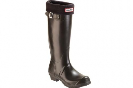Hunter Boots Socks Black, schwarz - 4