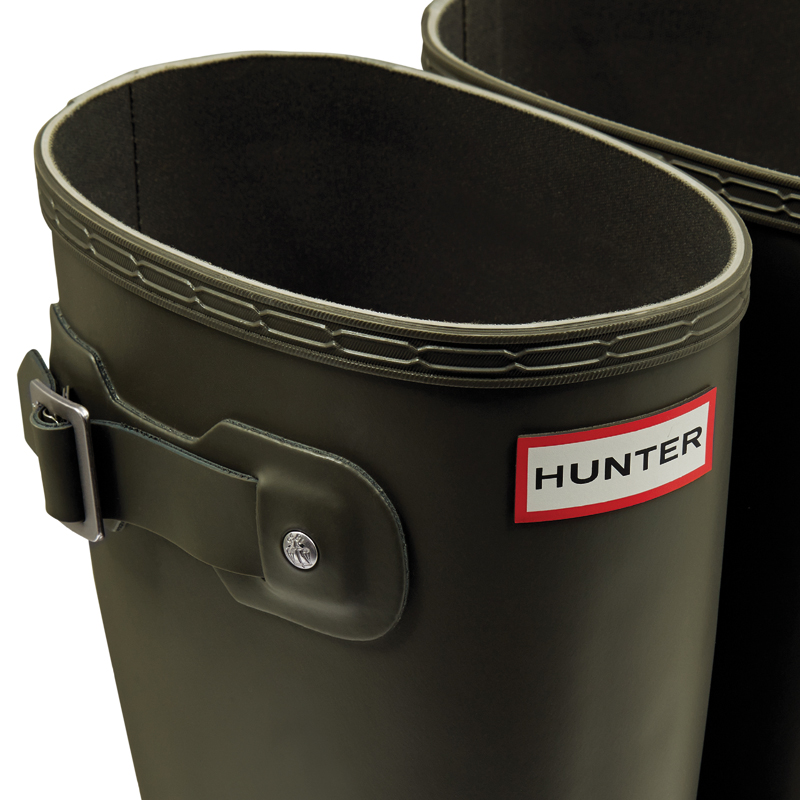 Hunter Men's Original Tall dark oliv Gummistiefel, 45,5 - 2