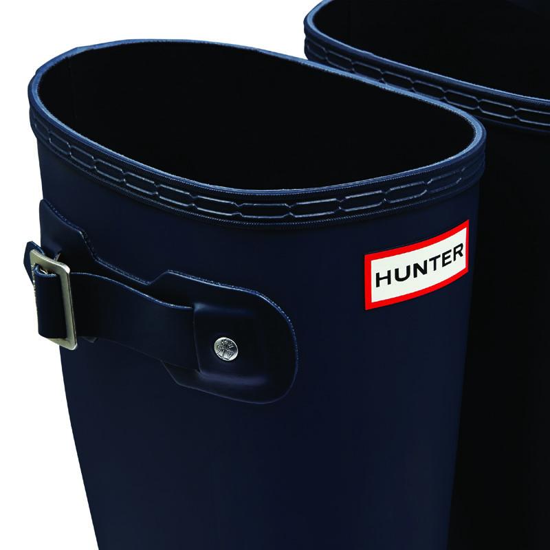 Hunter Men's Original Tall Gummistiefel in navy / blau 40,5 - 2