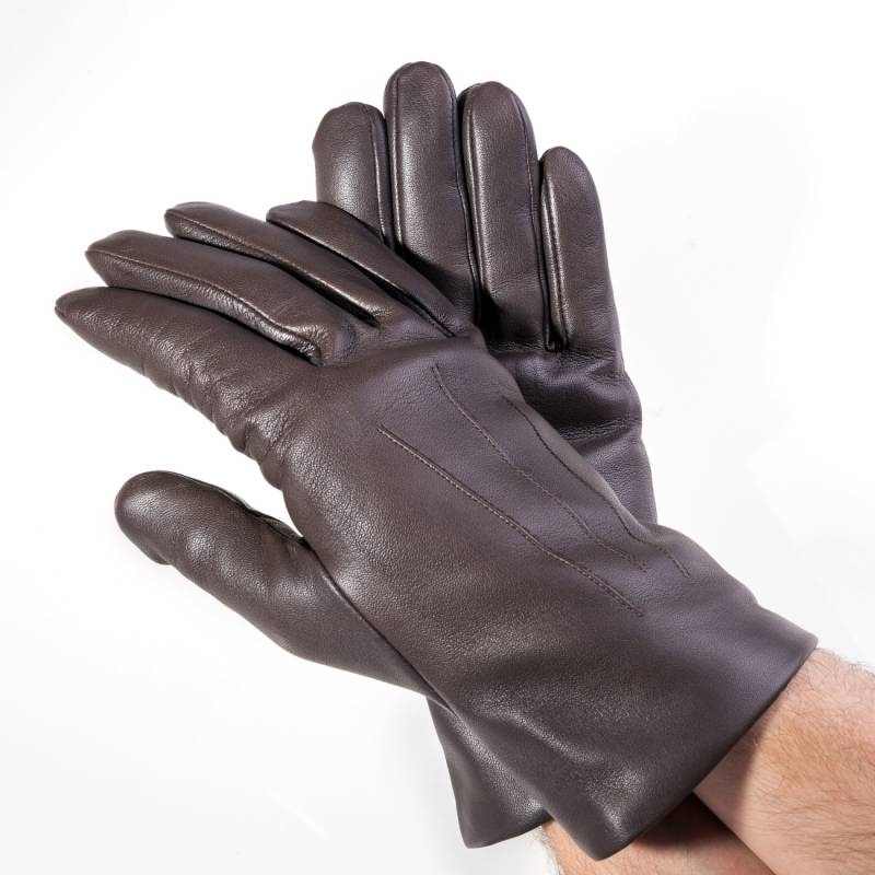 Seeger Herren Handschuhe APOLLON in dunkelbraun, alle Größen - 2