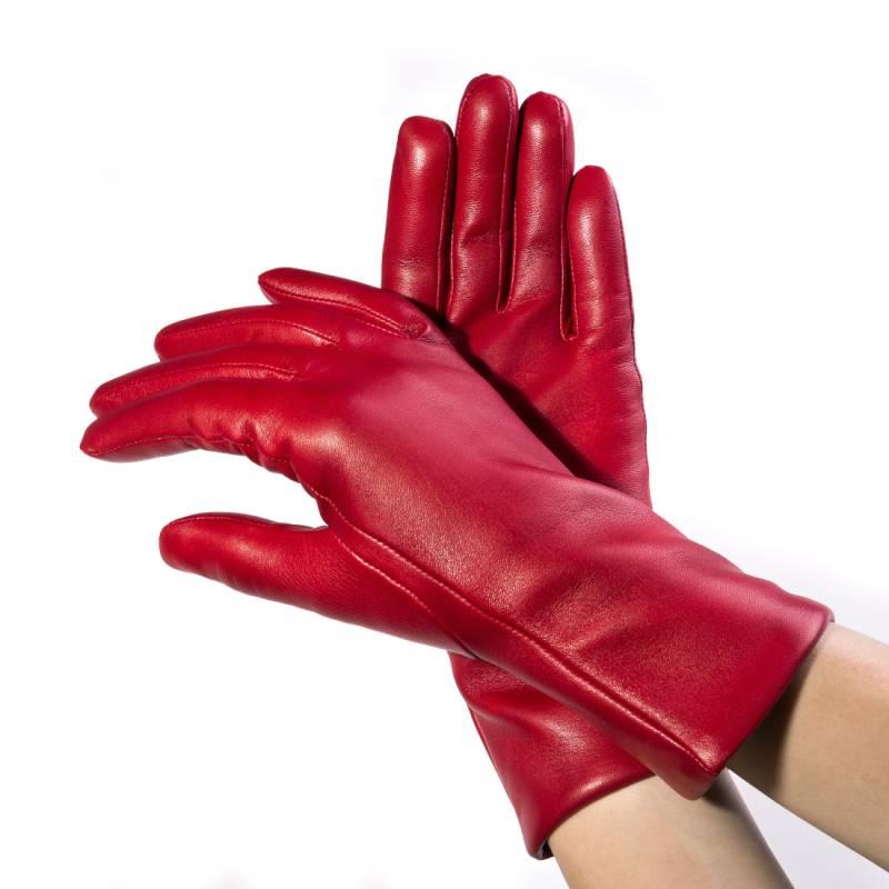 Seeger Damen Handschuhe MINERVA in rot, alle Größen - 2