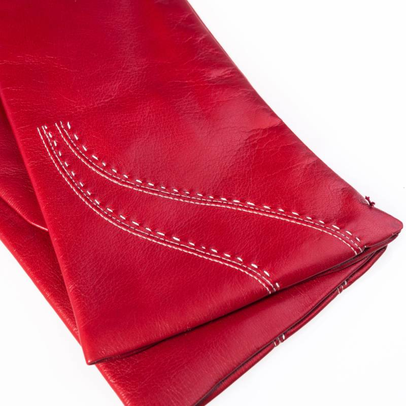 Seeger Damen Handschuhe JUNO in rot, 6 - 2