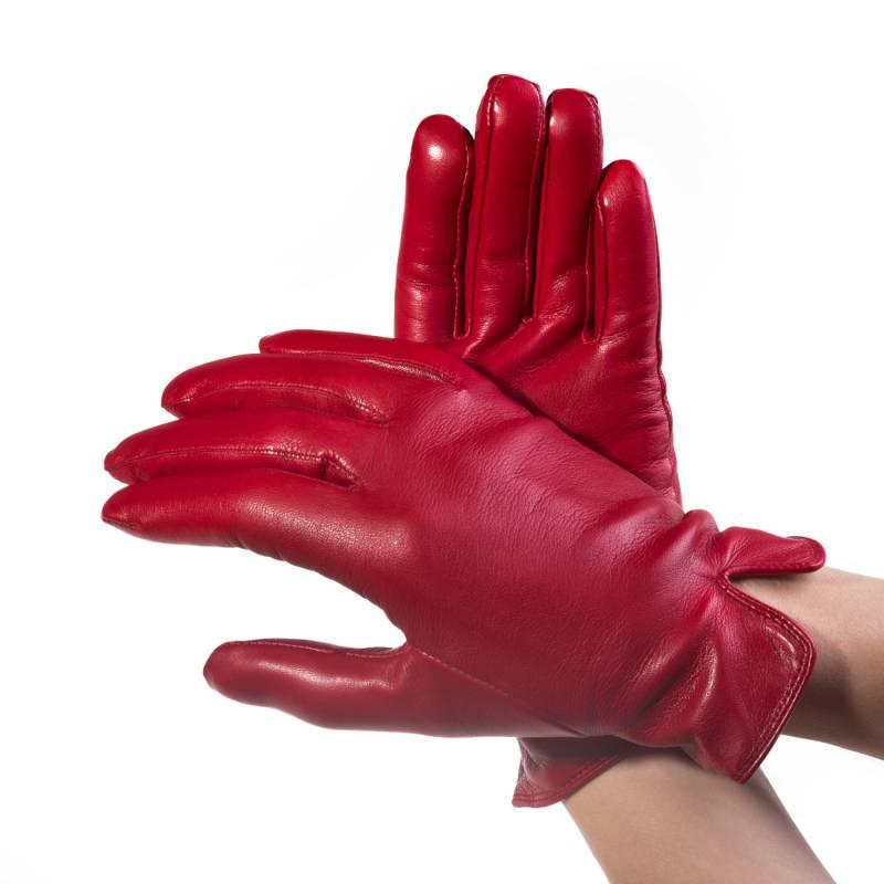 Seeger Damen Handschuhe METIS in rot, alle Größen - 2