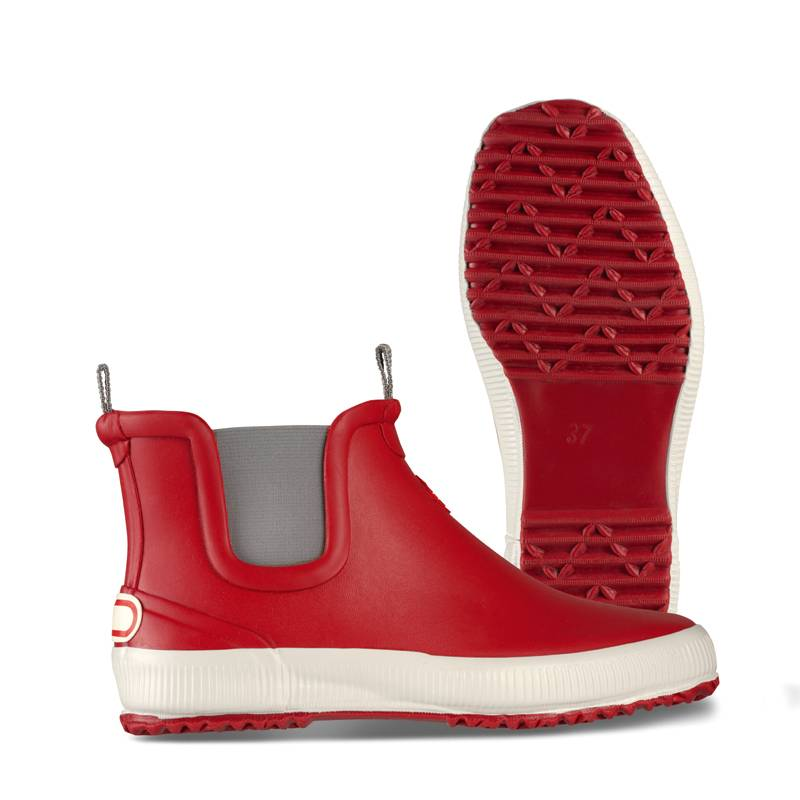 Nokian Footwear Hai Low dark red - Gummistiefel in rot