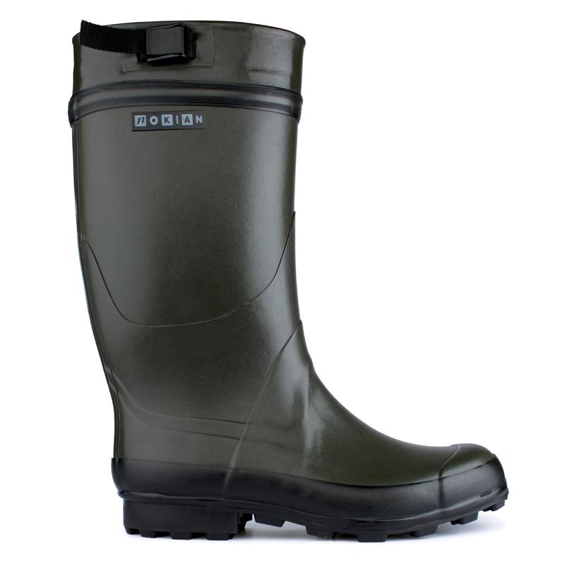 100% authentic 6e88d 42c75 Nokian Footwear Finnwald Gummistiefel mit Filzinnenschuh in grün, 45