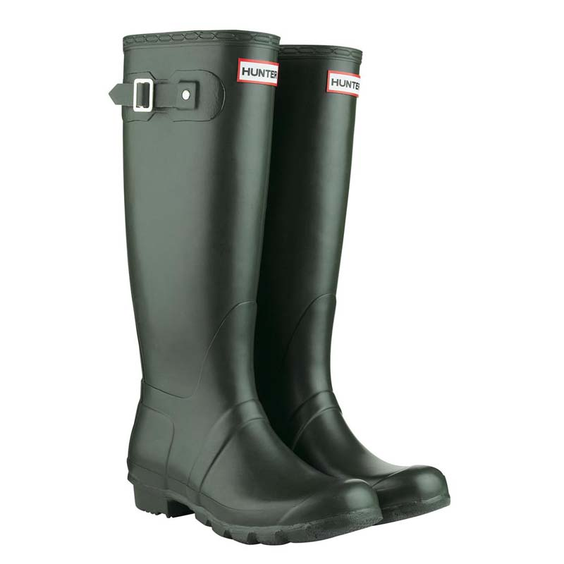 super popular 5ea31 03ee4 Details zu Hunter Gummistiefel Women's Original Tall dark oliv, Damen,  Größen 36 - 43