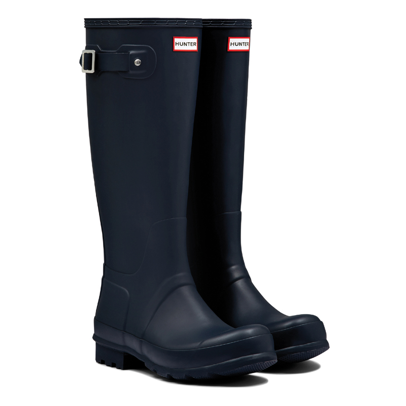 Hunter Men's Original Tall Gummistiefel in navy / blau