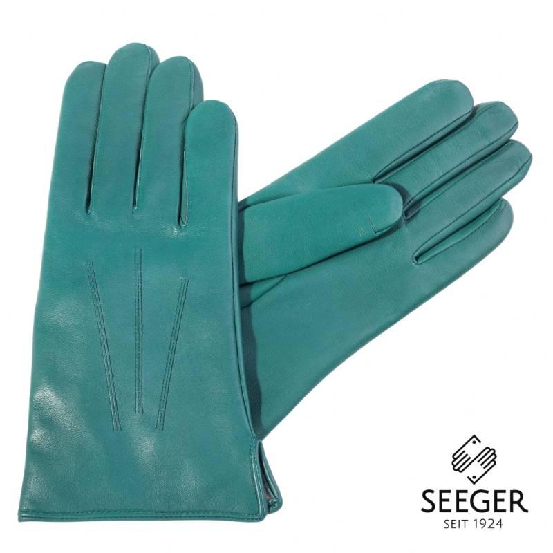 Herren Lederhandschuhe Kaschmirfutter Winterhandschuhe Schwarz Braun Blau