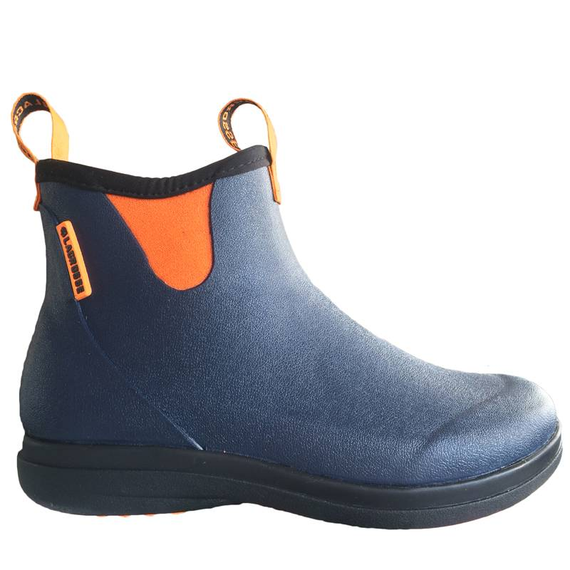 LaCrosse Women's Hampton II Navy/ Popsicle Orange Gummistiefel für Damen