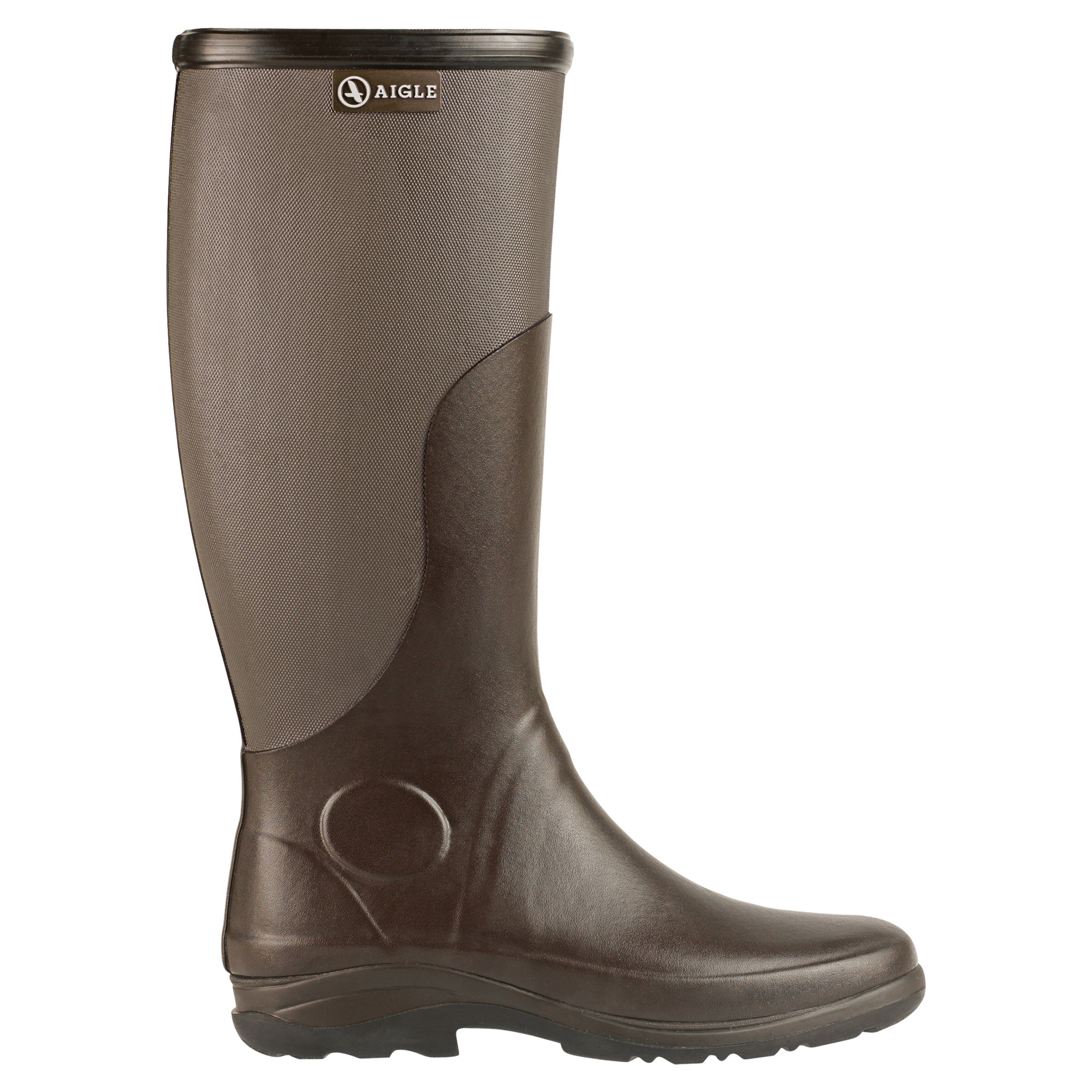 Aigle Rboot Gummistiefel in braun, taupe